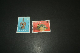 K11786- Set MNh  Iceland - Island -1976- SC. 490-491- YV. Europa - CEPT - Nuevos