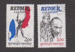 France Oblitérés - N° 2368 Et 2369 - 1985 - TB - France