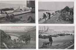 BERGES DE LA SEINE - CLICHES SEEBERGER - Edition M & Cie - 8 CPA - 5 - 99 Karten