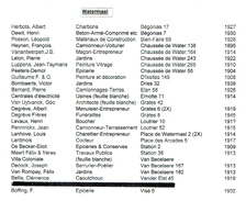 Lot 26 Factures / Documents Commerciaux De 1895 à 1938 - WATERMAEL - Bruxelles - Voir Liste Complète & 26 Scans - 1900 – 1949