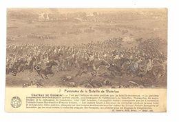 """CPA La Belgique Historique  Château De Goumont """"panorama De La Bataille De Waterloo"""" N°7 E.Desaix éditeur Bruxelles - Collections"""