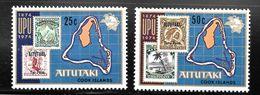 Aitutaki 1974 SC# 102-103 - Aitutaki