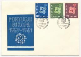 PORTUGAL - 8 Enveloppes FDC EUROPA De 1961 à 1968 - FDC