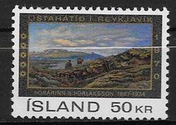 Islande 1970 N° 399  Neuf ** MNH Festival Des Arts - Ungebraucht