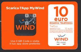 REF.17 - WIND - 10 € - SCARICA L' APP MY WIND - VALIDITA 31.12.2019 - Schede GSM, Prepagate & Ricariche