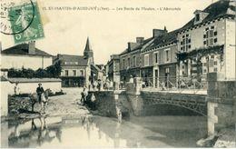 St Martin D'Auxigny Les Bords Du Moulon L'Abrevoir - Frankreich