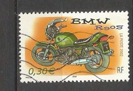 N° 3513 Moto BMW R90S  2002 Timbre Oblitéré France - Used Stamps