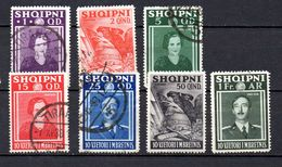 ALBANIA. AÑO 1938. Yv 249/256 (MNH/MH/USED). FALTA Y 252 - Albania