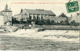 St Leger Des Vignes Le Barrage Dela Loire Et La Verreries - Altri Comuni