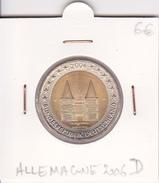 Allemagne Pièce 2 Euro Commémorative Année 2006D - Alemania