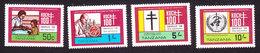 Tanzania, Scott #213-216, Mint Hinged, TB Bacillus Centenary, Issued 1982 - Tanzanie (1964-...)