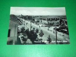 Cartolina Miramare Di Rimini - Viale Regina Elena 1951 - Rimini