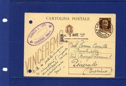 Pharmacy-Pharmacie-Apotheke. 2 - 3 -1943 - Farmacia A. Ciatti - Lama Mocogno   (Modena) - Pharmacy