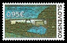 Slovakia 2017 Mih. 815 Orava Dam MNH ** - Slovakia