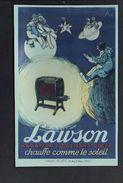 Publicité Radiateur à Gaz Lauson Dessin De Stall / Reproduction Photo Print ( Fond Neudin ) - Publicité