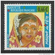 MAYOTTE 2003 MASQUE DE FETE MNH - Mayotte (1892-2011)
