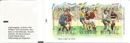 Le Football Suédois (Équipe Nationale Et Football Féminin)   Carnet Neuf ** - Football