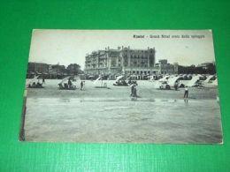 Cartolina Rimini - Grand Hotel Visto Dalla Spiaggia 1920 Ca - Rimini