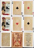 Jeu De L'an 2 - 54 Cartes - 54 Cartes