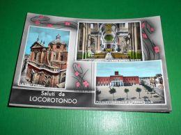 Cartolina Saluti Da Locorotondo - Vedute Diverse 1960 Ca - Bari