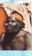 CPSM AUSTRALIE AUSTRALIAN ABORIGINAL TRIBESMAN NORTHERN TERRITORY - Australie