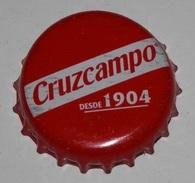 CAPSULE DE LE  BIÉRE  CRUZCAMPO - SPAIN - Bière