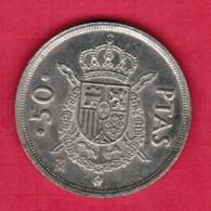SPAIN   50 PESETAS 1983 (KM # 825) - [ 5] 1949-… : Kingdom