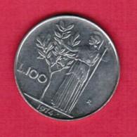 ITALY   100 LIRE 1974 (KM # 96) - 100 Lire