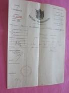 1867 MARSEILLE LE HAVRE DÉPÊCHE TÉLÉGRAPHIQUE TÉLÉGRAMME NAVIGATION CONNAISSEMENT-BILL OF LADING-Bateau,Navire-Chalvin - Trasporti