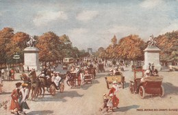 PARIS - Avenue Des Champs Elysées - Animée Illustrateur  Raphael Tuck  N° 78 Non écrite - Champs-Elysées