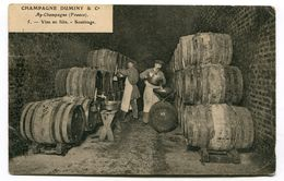 CPA  51  :  AY  Champagne Duminy Le Soutirage    VOIR  DESCRIPTIF  §§§§ - Ay En Champagne