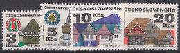 CSSR 1972 Mi. 2080 -83 Yv. 1920 -23 Postfrisch MNH** - Cecoslovacchia