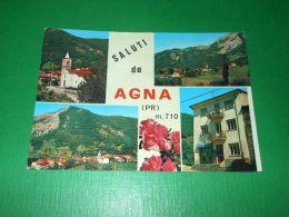 Cartolina Saluti Da Agna ( Parma ) - Vedute Diverse 1977 - Parma