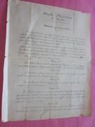 27-9-1862 CERCLE MARITIME STATUTS PROVISOIRES NAVIGATION 9 ARTICLES -CONNAISSEMENT-BILL OF LADING-Bateau VAPEUR ,Navire - Trasporti