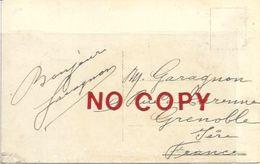 Garagnon, Cantante Lirico Francese, 29.8.1911, Cartolina Milano, Teatro Alla Scala, Saluti Autografi. - Autographes