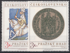 CSSR 1973 Mi. 2141 -42 Yv. 1983 -84 Postfrisch MNH** - Cecoslovacchia