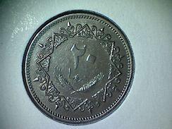 Libye 20 Dirhams 1975 - Libye
