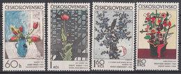 CSSR 1974 Mi. 2185 -88 Yv. 2036 -39 Postfrisch MNH** - Cecoslovacchia