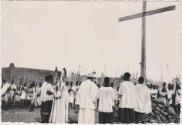 Burkina Faso  Nouna  Mgr Lesourd Benit Une Nouvelle Croix Mission Des Peres Blancs - Burkina Faso