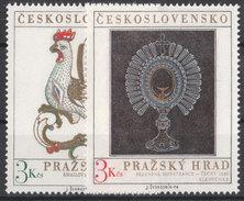 CSSR 1974 Mi. 2201 -02 Yv. 2046 -47 Postfrisch MNH** - Cecoslovacchia