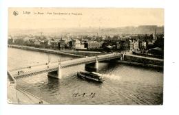 Liège - La Meuse - Pont Saint-Léonard Et Panorama / Thill Série 8 N° 57 - Liege