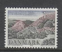 TIMBRE NEUF DU DANEMARK - PROTECTION DE LA NATURE : BRUYERES DE REBILD N° Y&T 536 - Other