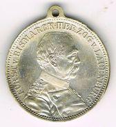 Rare Old Medal 1895 Otto Fürst Von Bismarck, 80th Anniversary Of His Birth. German Empire, Reich, Iron Chancellor. - Royaux/De Noblesse