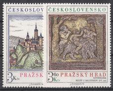 CSSR 1976 Mi. 2343 -44 Yv. 2179 -80 Postfrisch MNH** - Cecoslovacchia