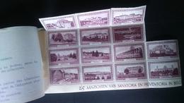 """Carnet De Vignettes Antituberculeux De 1933 Avec 14 Vignettes """"état XX"""" - Erinnophilie"""