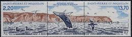 B5324 SAINT PIERRE ET MIQUELON 1988, SG 606a Natural Heritage, Ross Cove, Curlew  MNH - Unused Stamps
