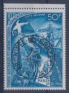 TAAF - PA 18 PARIS 1968 OBL USED CACHET SUPERBE CROZET COTE 48 EUR - Poste Aérienne