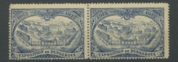 EXPOSITION De DUNKERQUE 1912  OSTENDE  Superbes  Vignettes Très Fraîche, Pleine Gomme - France