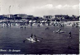 Rimini - La Spiaggia - 024544 - Formato Grande Viaggiata - E 2 - Rimini