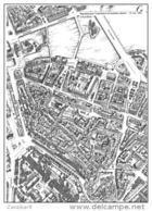 Plan De Genève Dessiné Par Kurt Strub - Cartes Géographiques